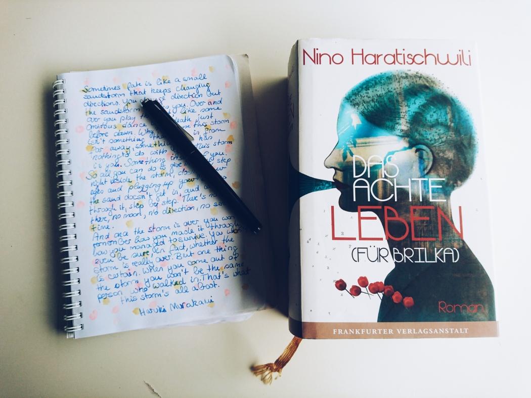Nino Haratischwili Das achte Leben für Brilka Zitat Buch Roman