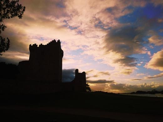 Ross Castle Killarney Nationalpark Irland reisen Reise