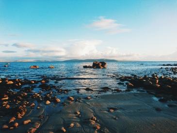 Galway Irland Furbogh Meer