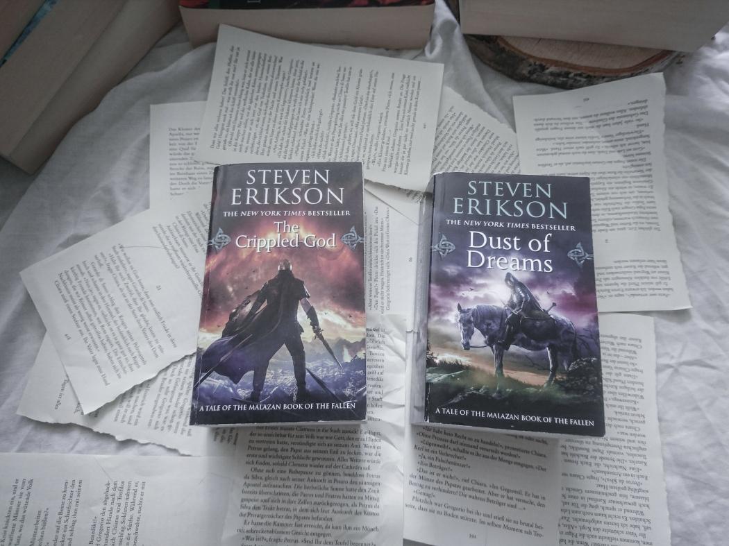 Steven Erikson Spiel der Götter Fantasy Reihe