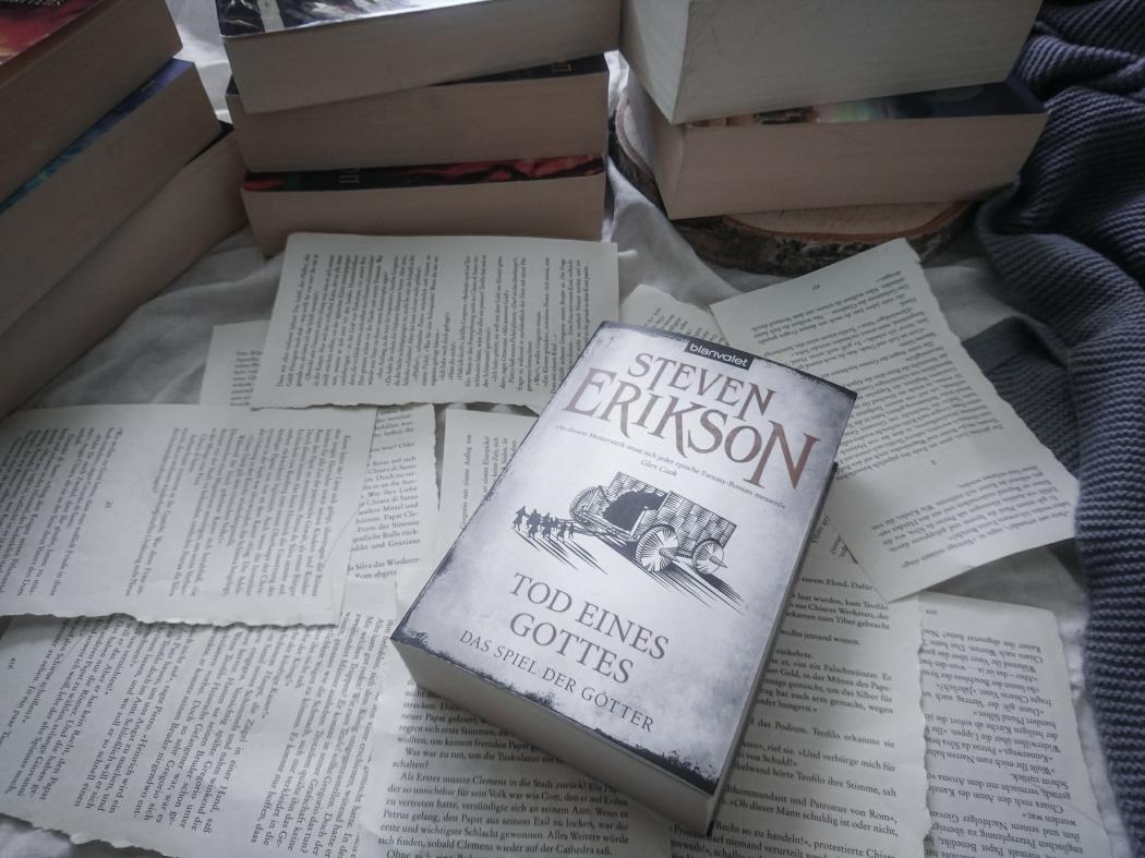 Steven Erikson das Spiel der Götter Reihe