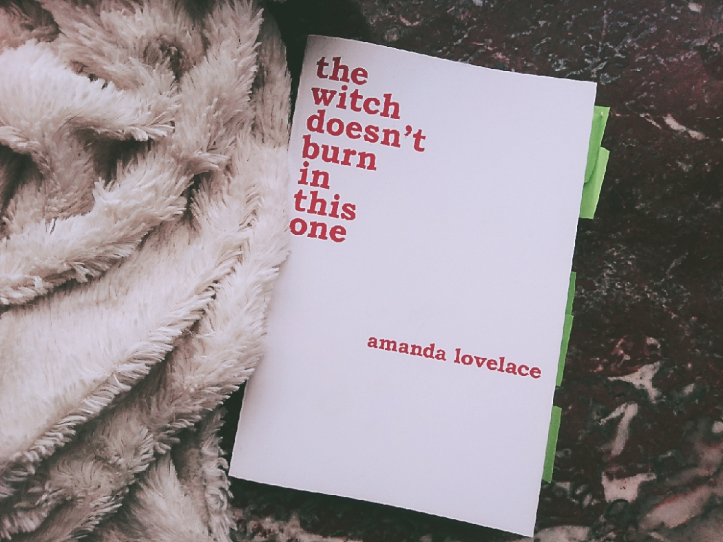 Rezension Amanda Lovelace the witch doesn't burn in this one