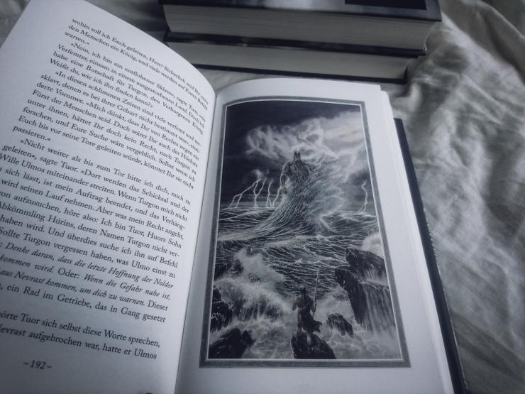 Tolkien Der Fall von Gondolin illustrierte Ausgabe