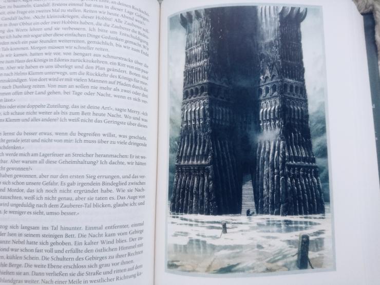Tolkien Der Herr der Ringe illustrierte Ausgabe Alan Lee