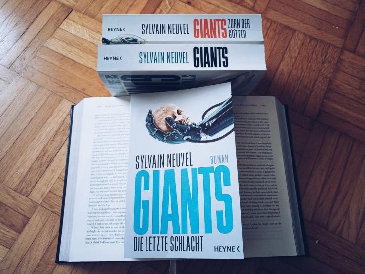 Sylvain Neuvel Giants 3 Die letzte Schlacht Rezension
