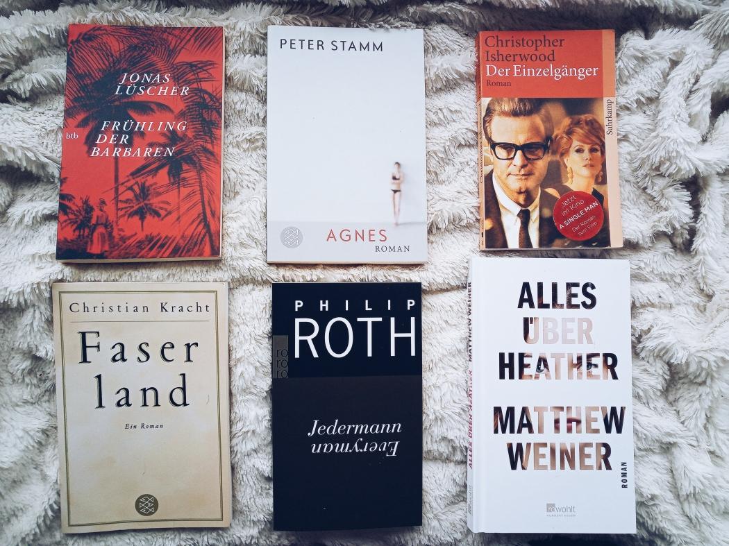 kurze Bücher für einen gemütlichen Sonntag