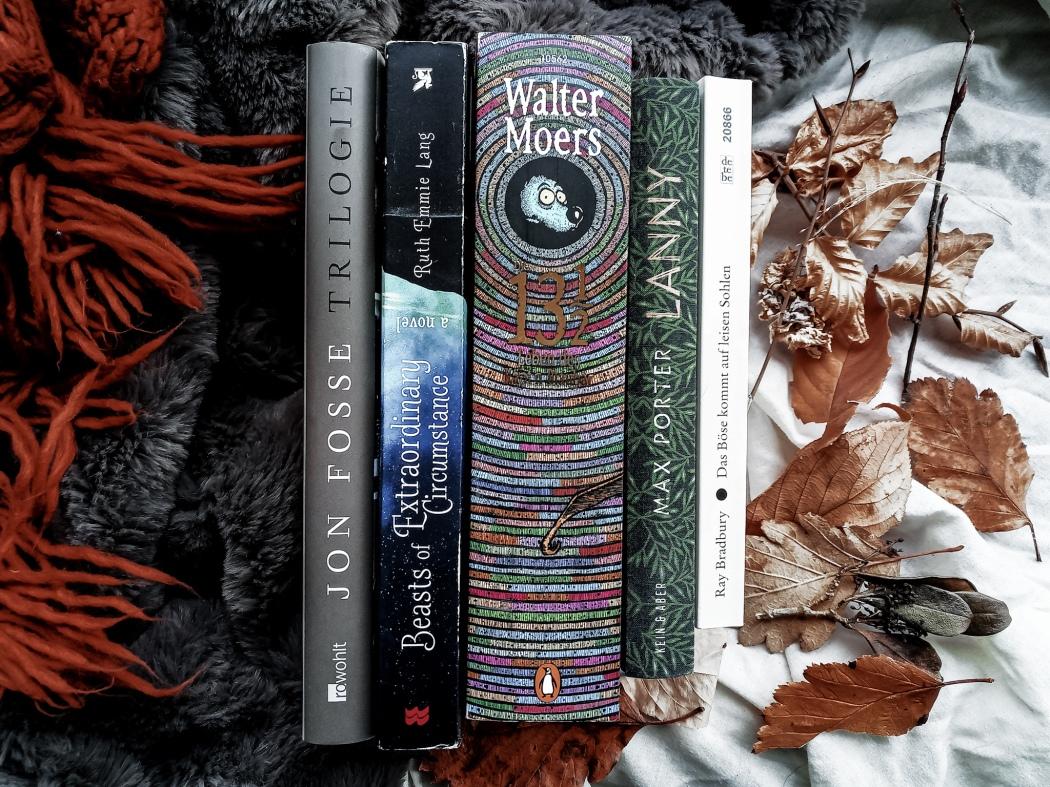 Schaurig stimmungsvoll Bücher fuer den Herbst