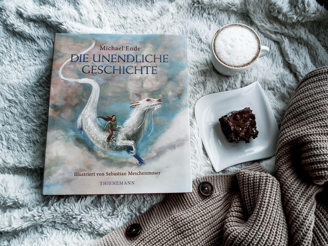Michael Ende Die unendliche Geschichte illustrierte Ausgabe