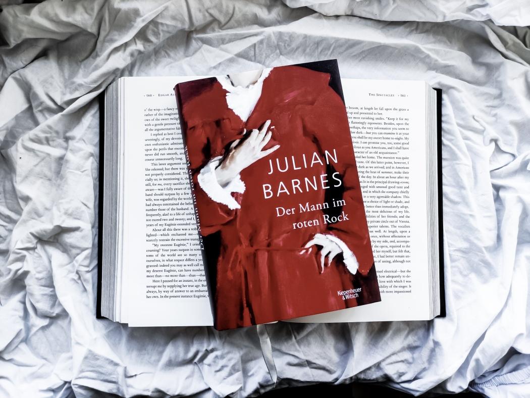 Julian Barnes Der Mann im roten Rock Rezension